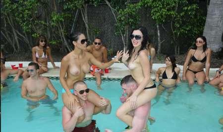 journée sexe alcool ++ dans villa et rivière privé